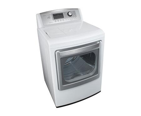 Lg Dlex5170w Electric Dryer In White Appliances Connection