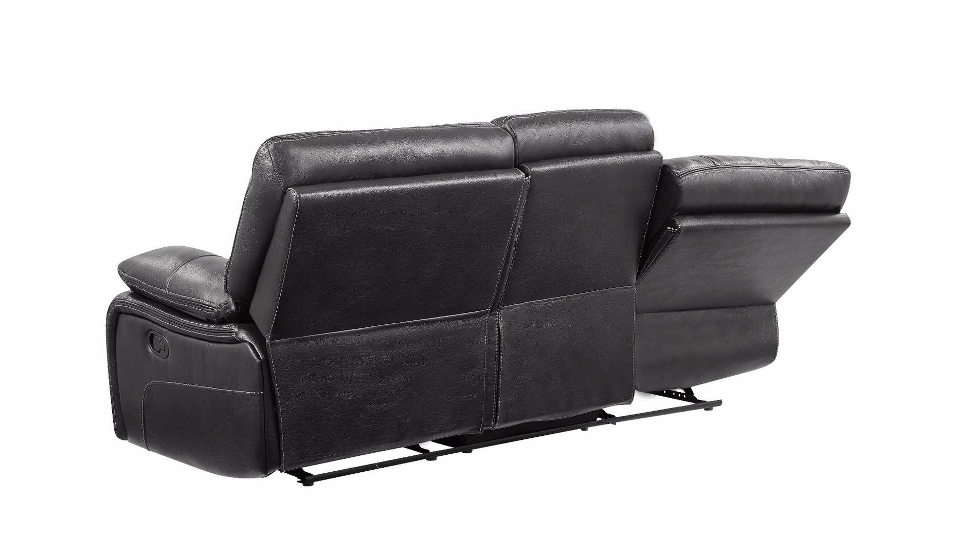 Global furniture usa u0040rs u0040 series reclining faux for Furniture 5 years no interest