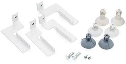 Electrolux front load washer and dryer stacking kit