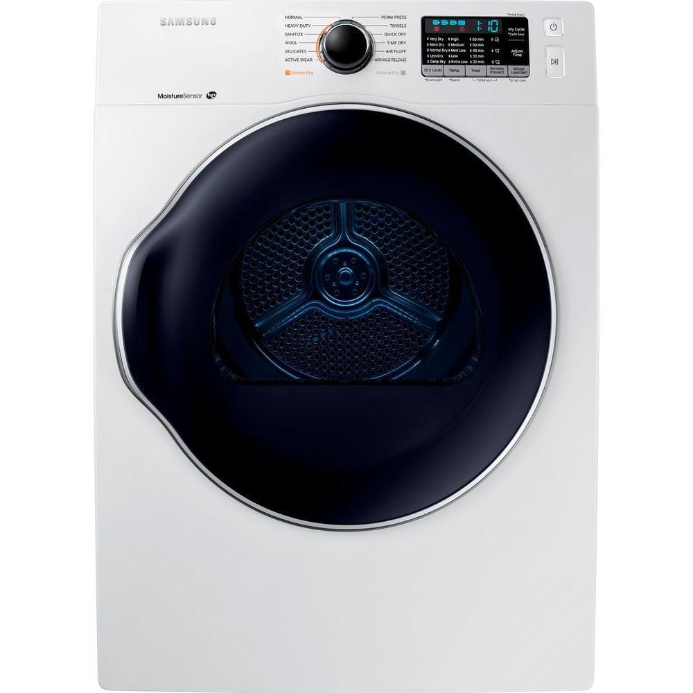 Samsung Appliance Dv22k6800ew 24 Inch 4 0 Cu Ft Electric