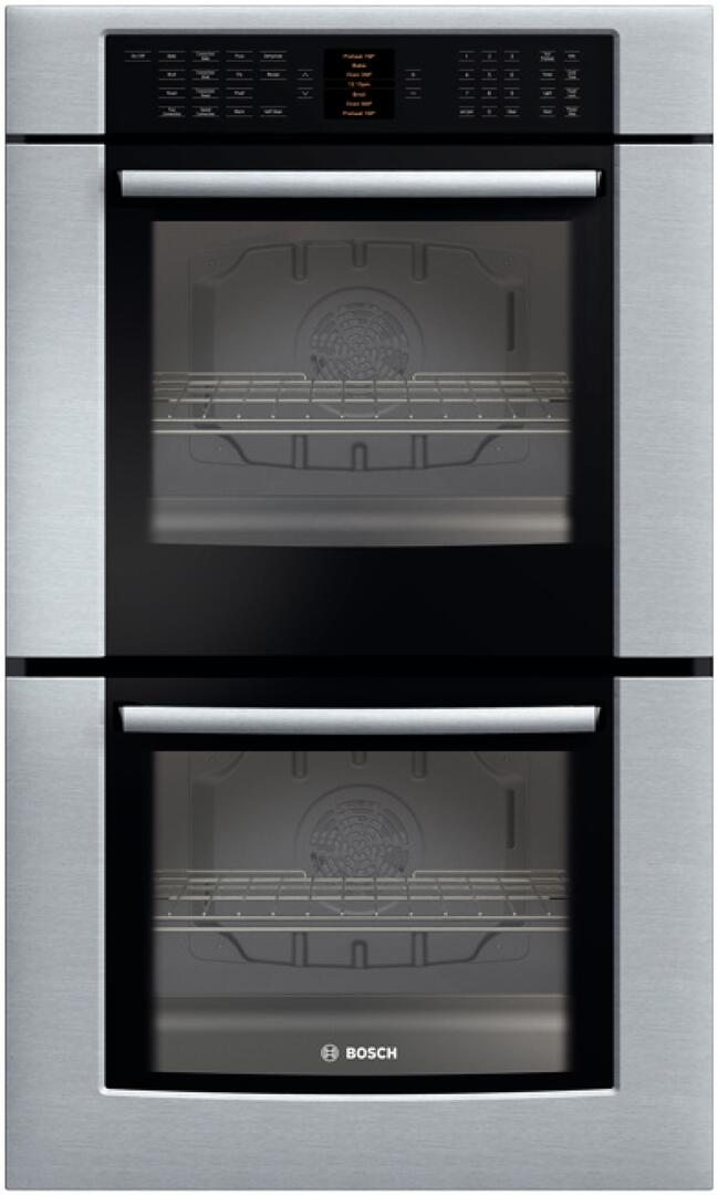 Bosch Hbl8650uc Double Wall Oven In Stainless Steel