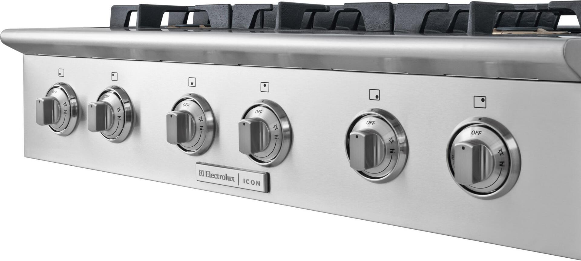 Electrolux Icon E36GC76PPS Professional Series Gas Sealed Burner ...