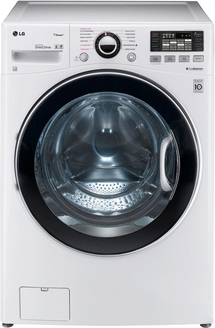 Lg wm3470hwa turbowash series 4 0 cu ft front load Best front load washer