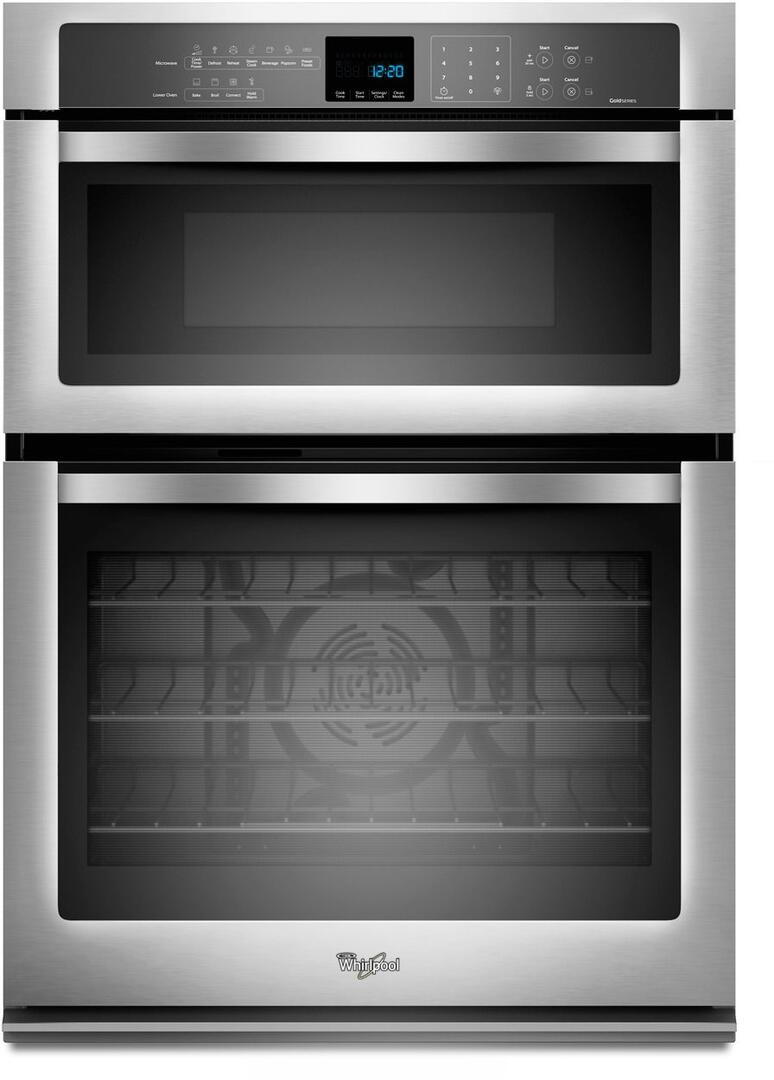 Whirlpool Woc95ec0as 30 Inch Oven Microwave Combo Double