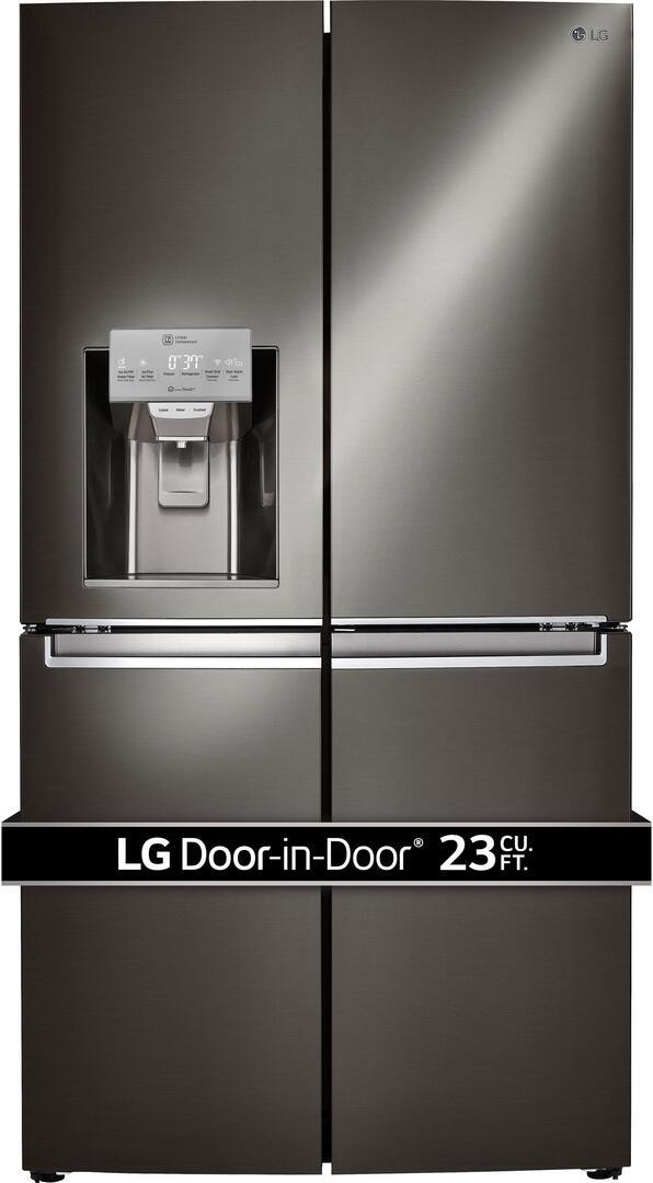 lg black stainless steel 1