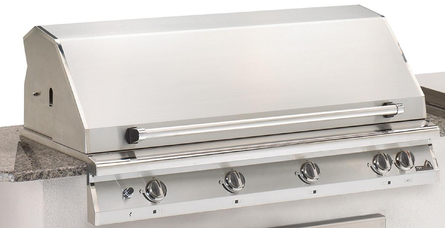 Pgs S48rng Freestanding Grill In Stainless Steel
