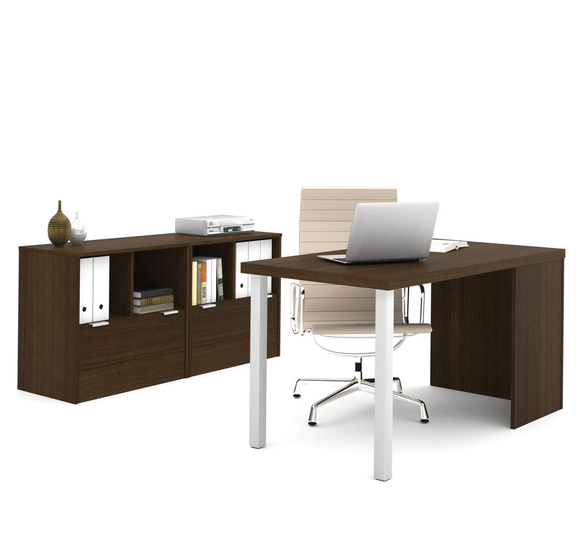 Bestar furniture 15085178 contemporary standard office for Furniture 5 years no interest