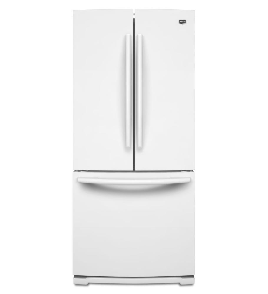 Maytag mfb2055yew french door refrigerator with 19 6 cu for 19 6 cu ft french door refrigerator