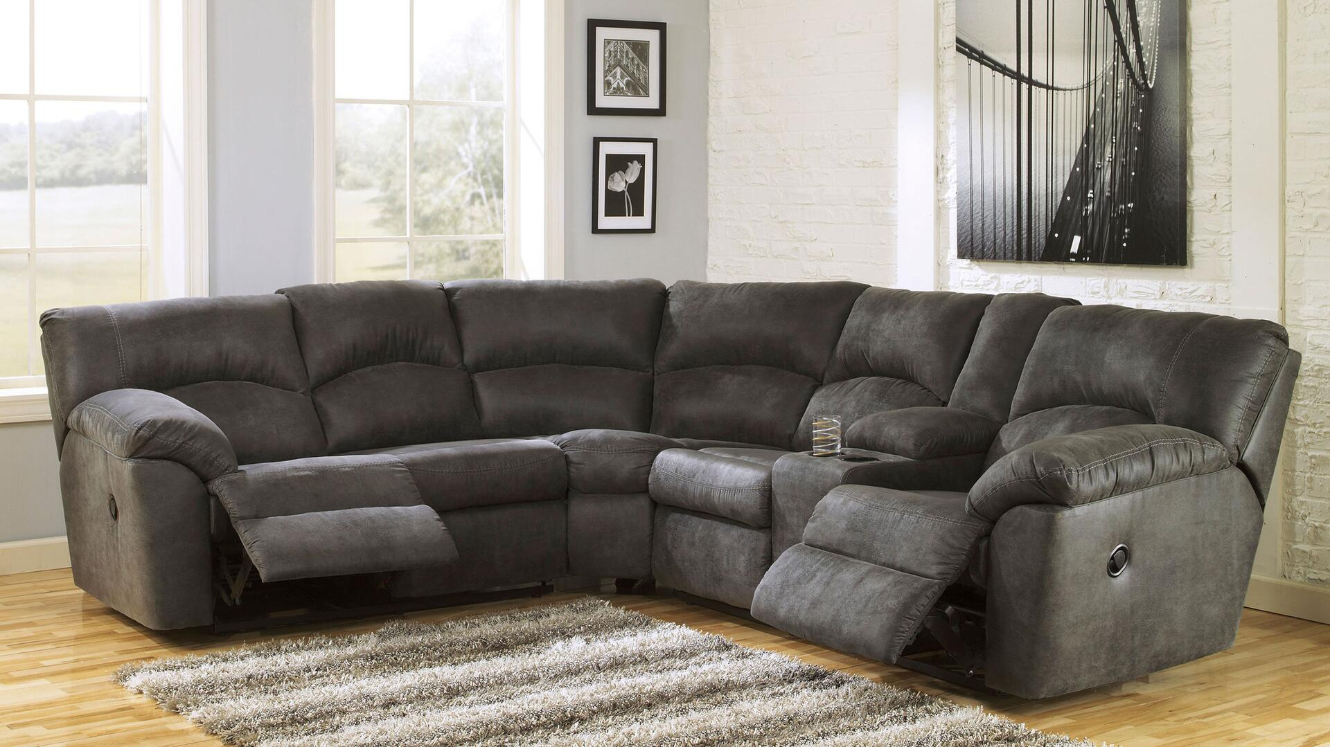 Signature Design by Ashley Tambo Series Reclining Faux