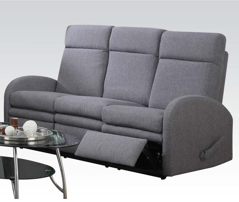 Acme Furniture 51035 Azura Series Stationary Fabric Sofa Appliances Connection