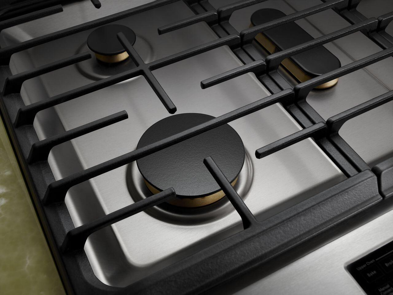 Jenn air deals jds1450ds 30 inch slide in dual fuel range for Kitchen 0 finance deals