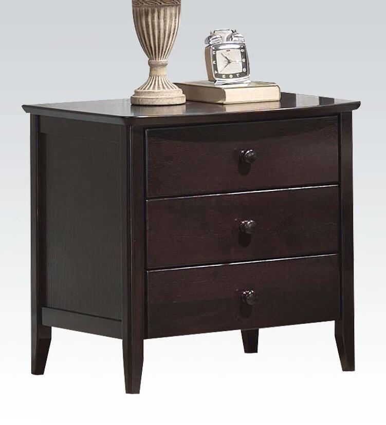 Acme furniture 04997 san marino series rectangular night for Furniture 5 years no interest