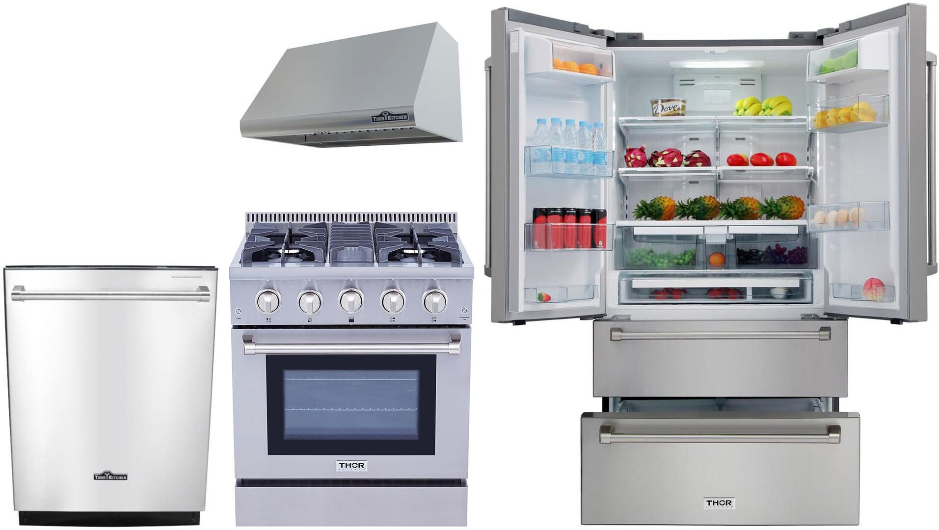 Thor kitchen 802664 kitchen appliance packages for A kitchen connection