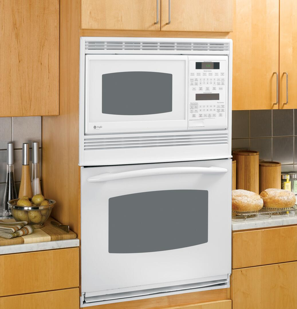 Ge Profile Pt970drww 30 Inch Double Wall Oven In White