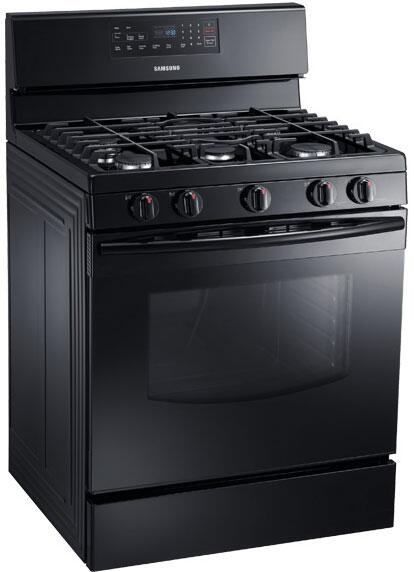 Samsung Nx58f5500sb 30 Inch Gas Freestanding Range With