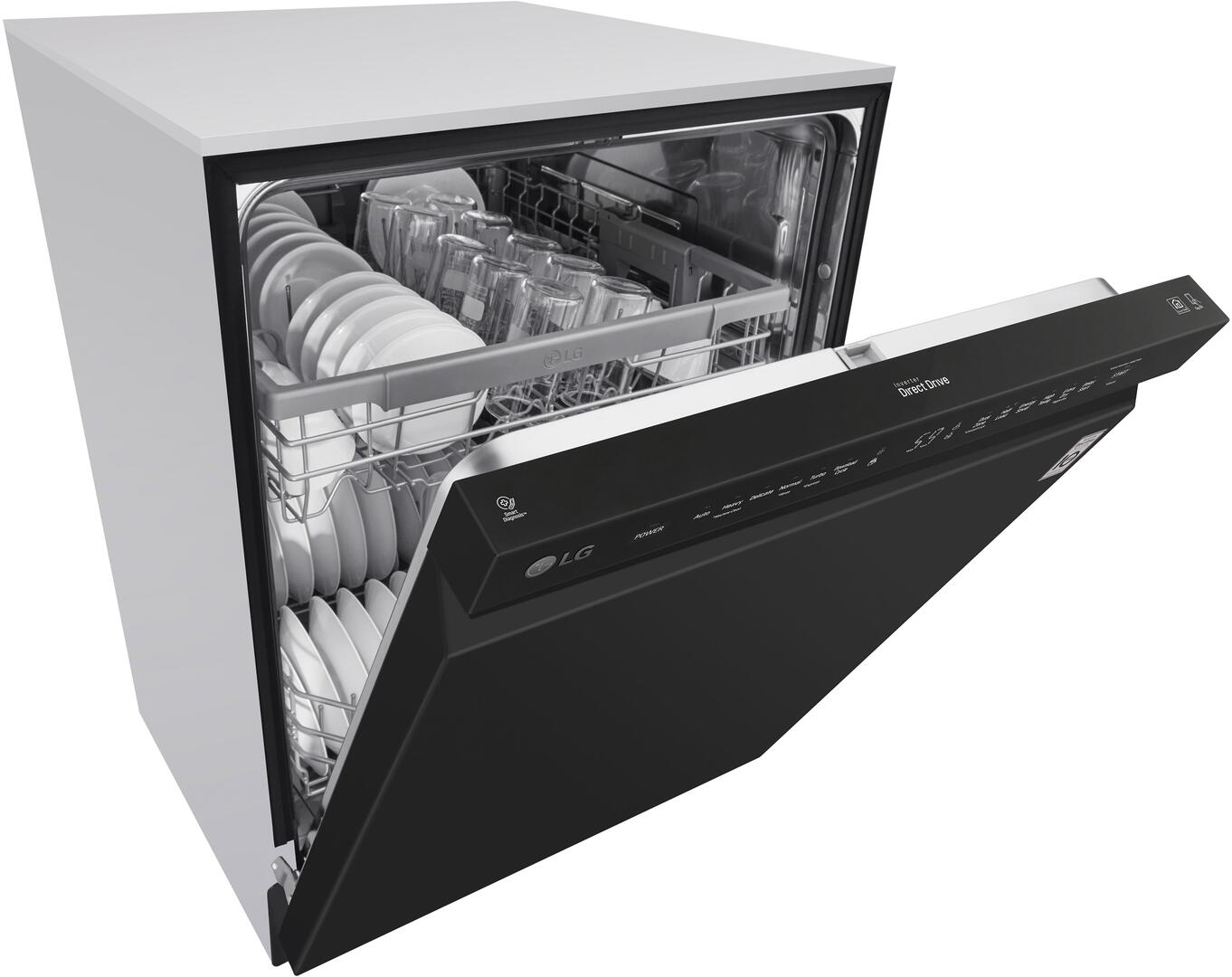 Lg Ldf5545st 24 Inch Built In Full Console Dishwasher With