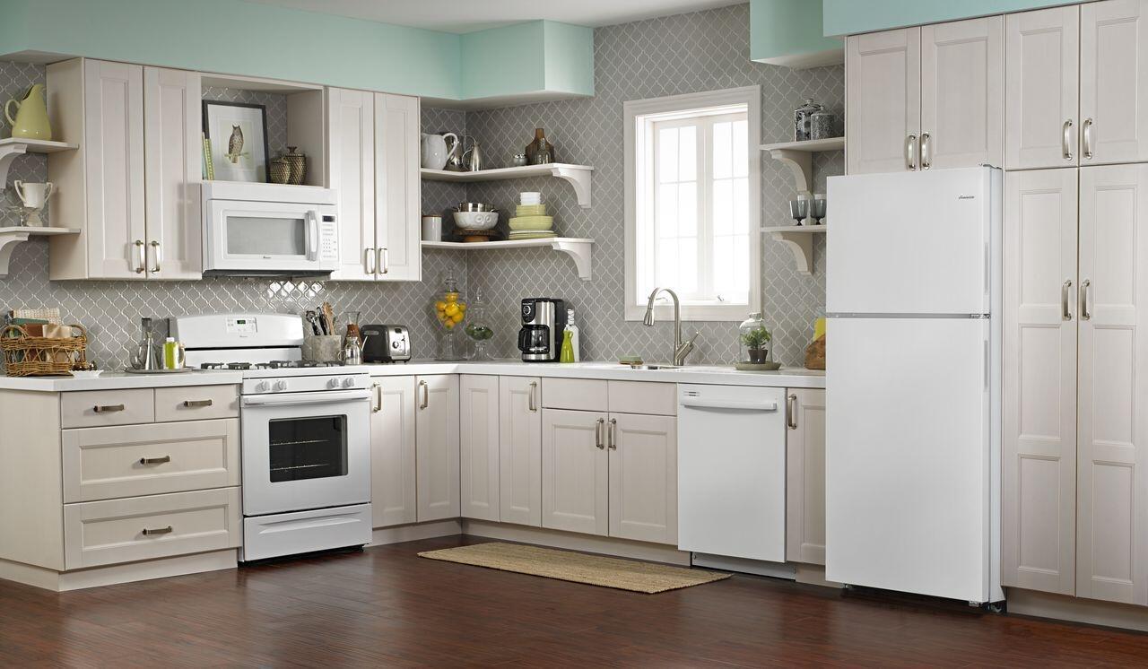 Amana Art318ffdw 30 Inch White Refrigerator With 182 Cu Ft Wiring Diagram On Oil Furnace Older Sample Installation