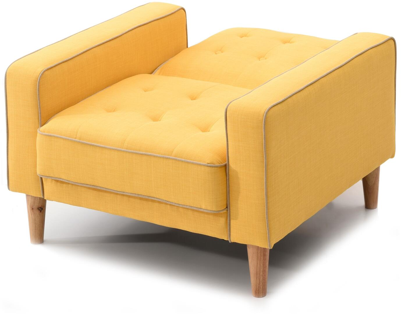 Glory Furniture G834ac Navi Series Chair Sleeper Fabric Sofa Appliances Connection