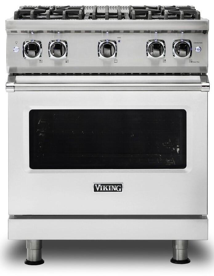 Viking Vgr5304bss 30 Inch 5 Series Gas Freestanding Range