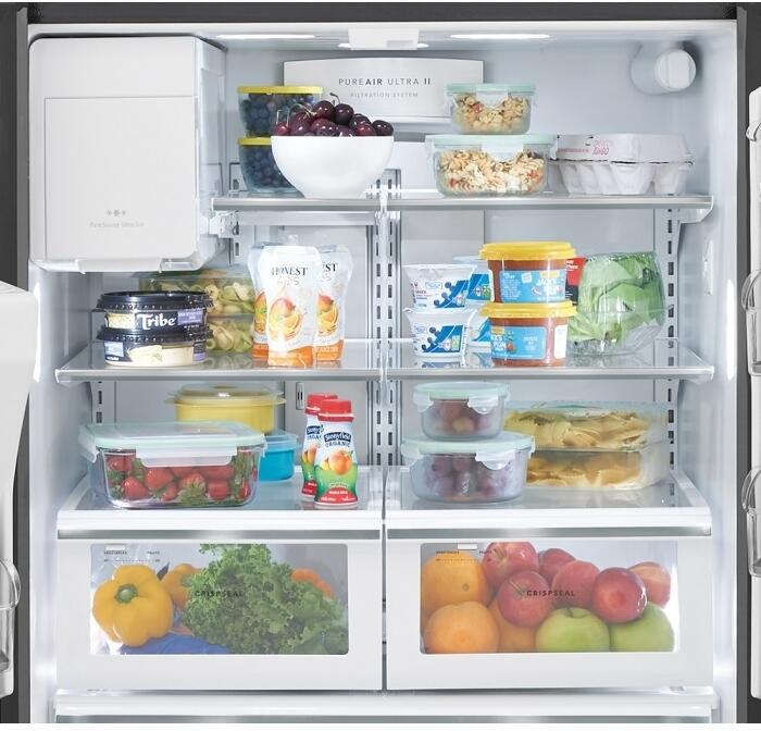 Frigidaire FGHB2868TF 36 Inch Gallery Series Stainless Steel French ...