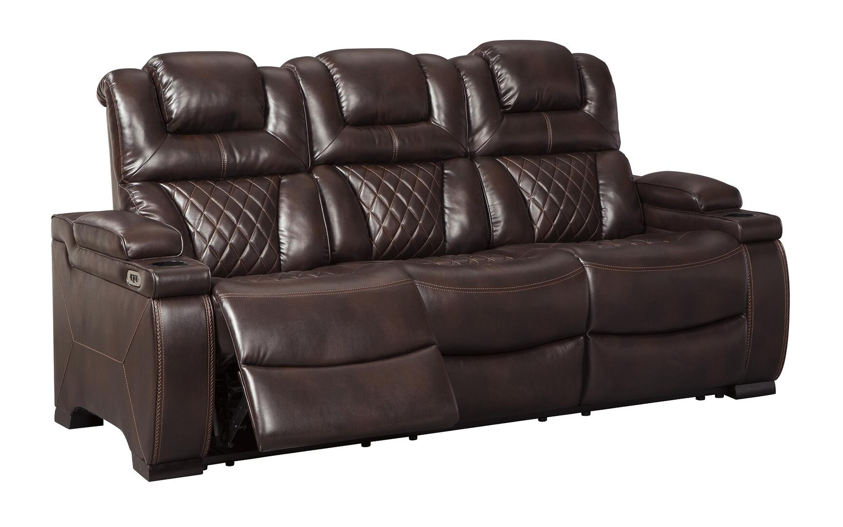 Signature Design By Ashley 7540715 Warnerton Series Faux Leather