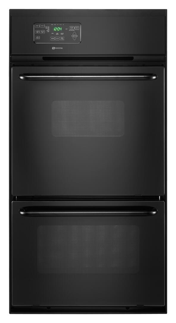 Maytag Cwg3600aab 24 Inch Double Wall Oven In Black