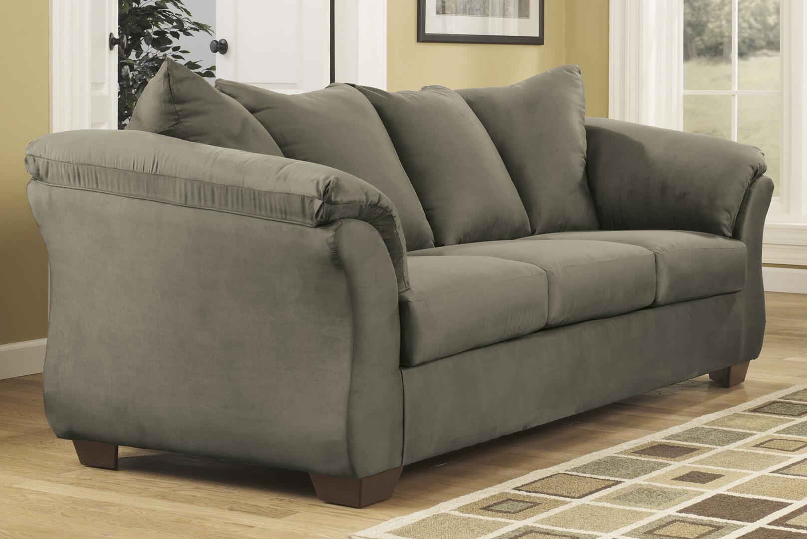Ashley darcy sofa signature design by ashley darcy mocha for 750 sofa chaise