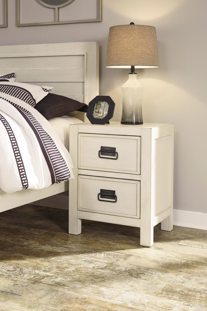 Milo italia br58986 pruitt series rectangular wood night for Pruitts bedroom sets