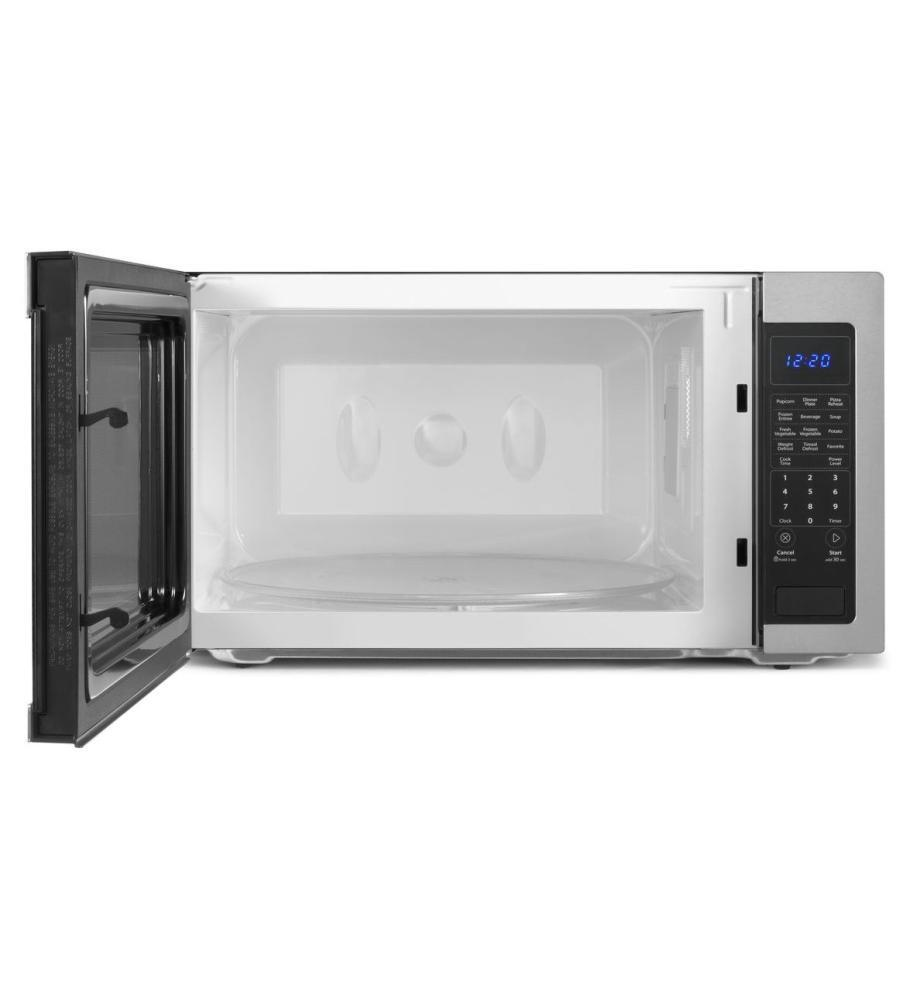 Whirlpool Wmc50522ab Countertop Microwave In Black