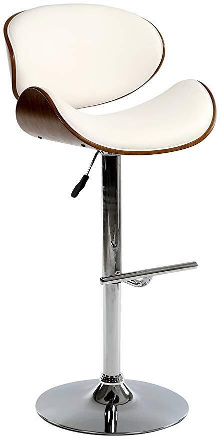 Bromi Design Bf2670wh Hailey Series Bar Stool Appliances