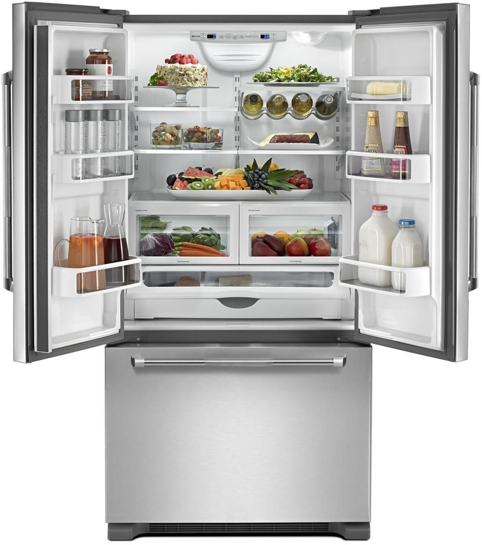 Jenn Air Counter Depth Refrigerator French Door: Jenn-Air JFC2290REP 36 Inch Stainless Steel Counter Depth