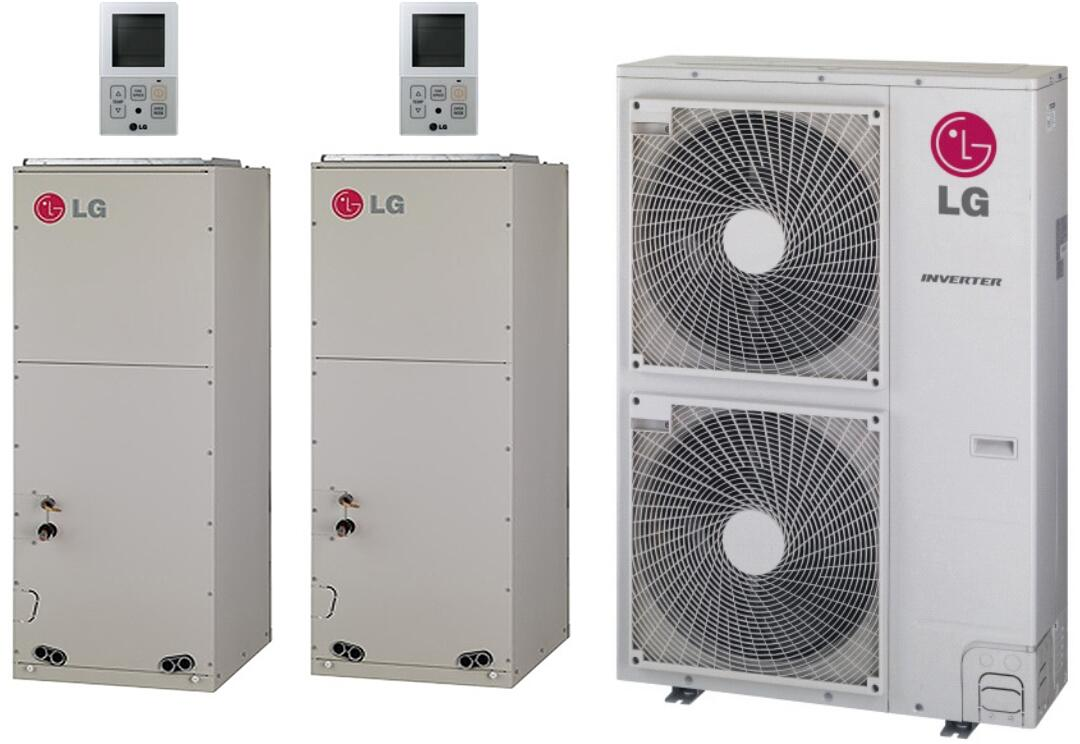 lg 705375 dual zone mini split air conditioners appliances connection. Black Bedroom Furniture Sets. Home Design Ideas
