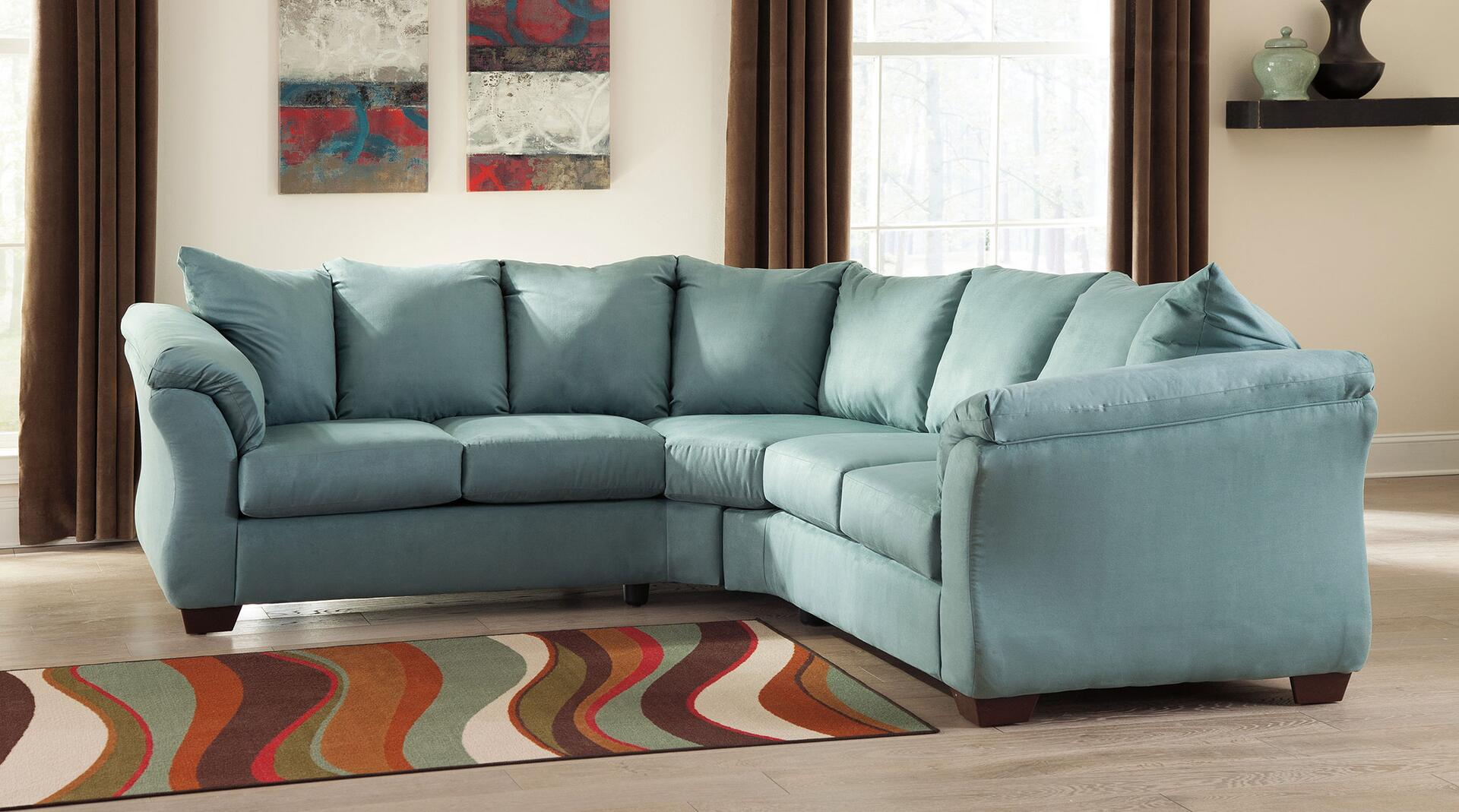 Signature Design By Ashley 75006ssr Darcy Living Room Sets