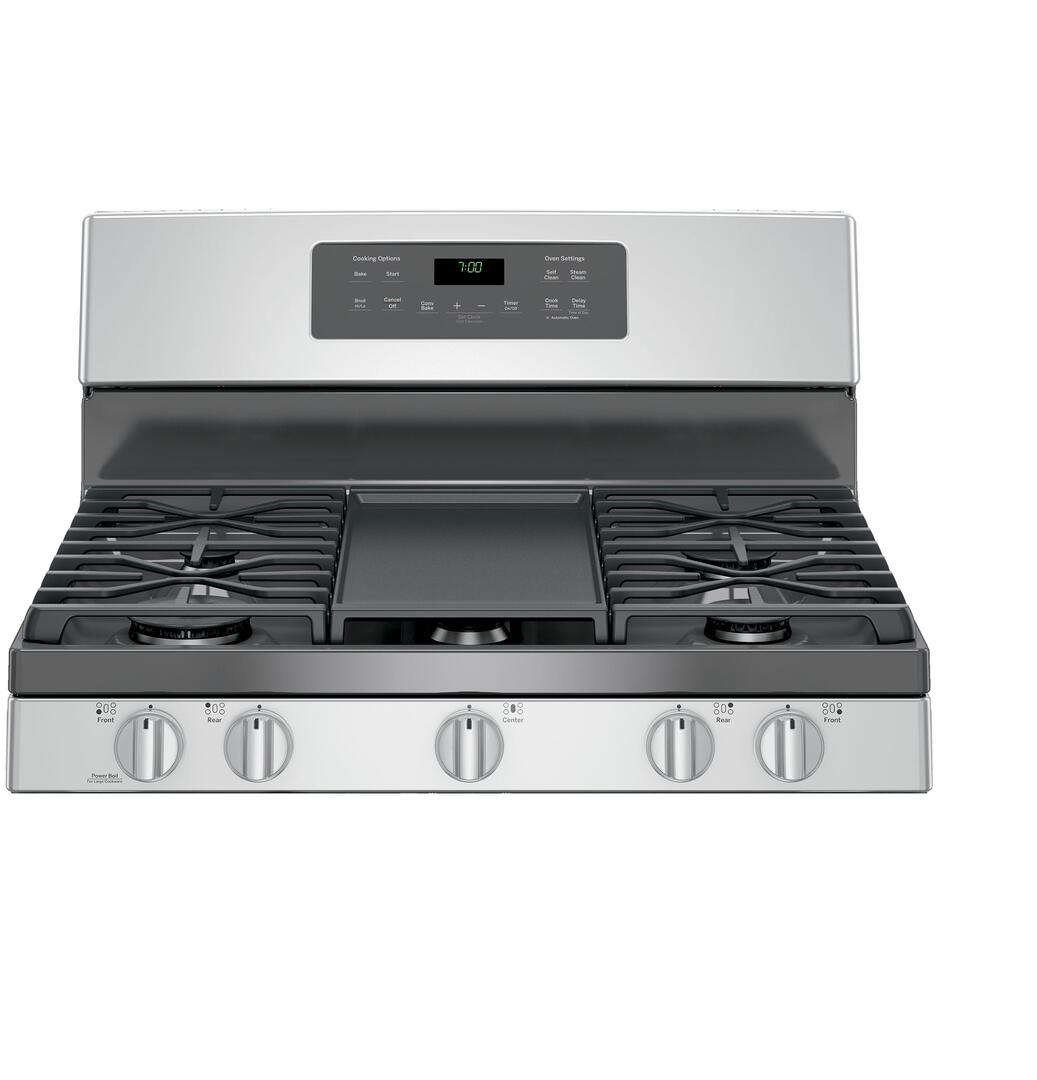 GE JGB700SEJSS 30 Inch Gas Freestanding Range with Sealed Burner ...