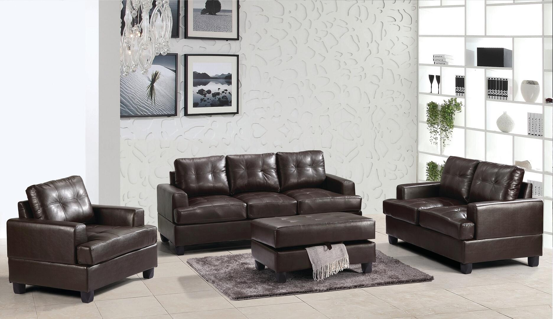 Glory furniture g585aset living room sets appliances for Furniture connection