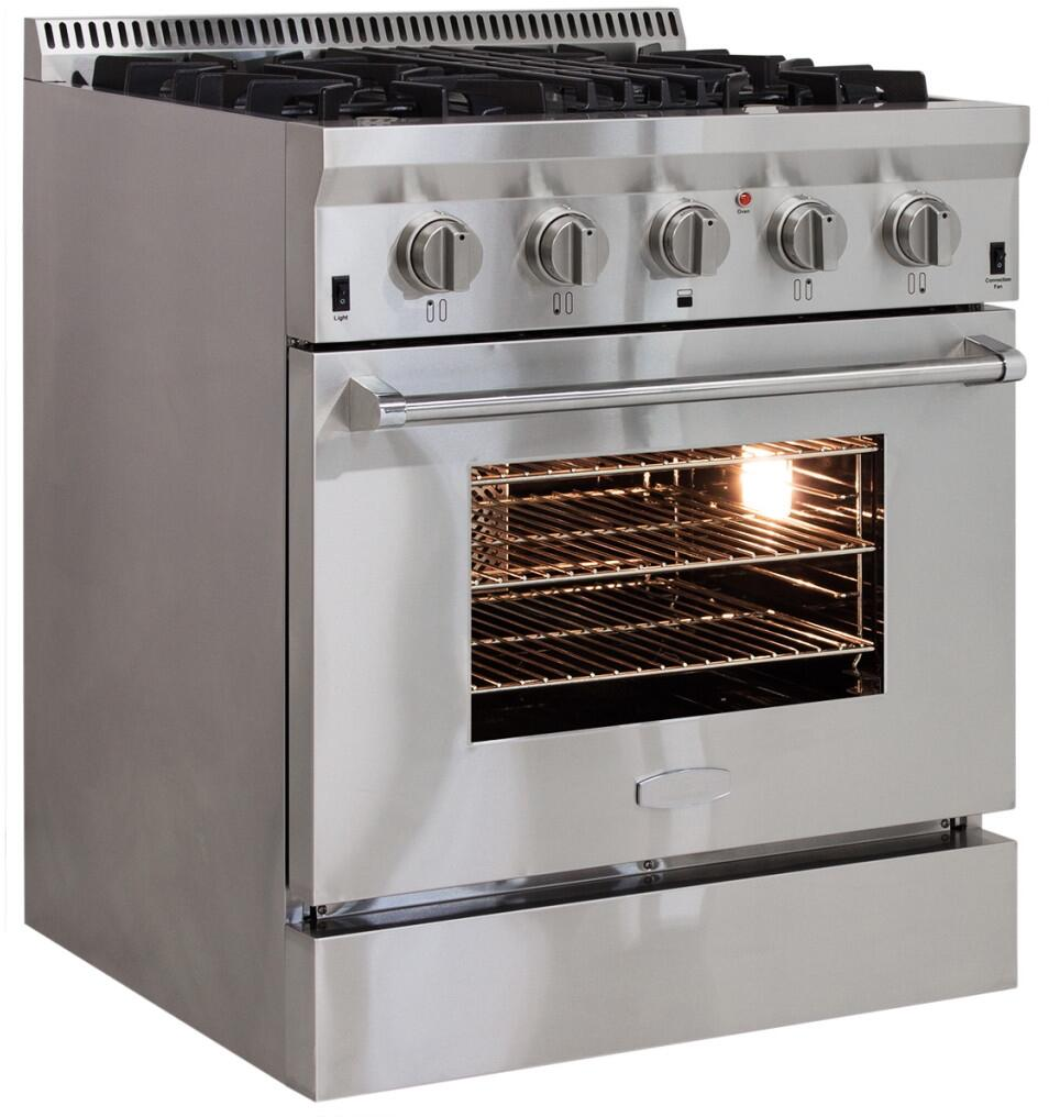 Aga apro30agss 30 inch professional series gas for Best slide in gas range under 2000