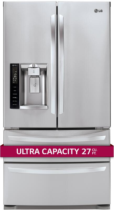 Lg Lmxs27626s 36 Inch French Door Refrigerator With 26 7