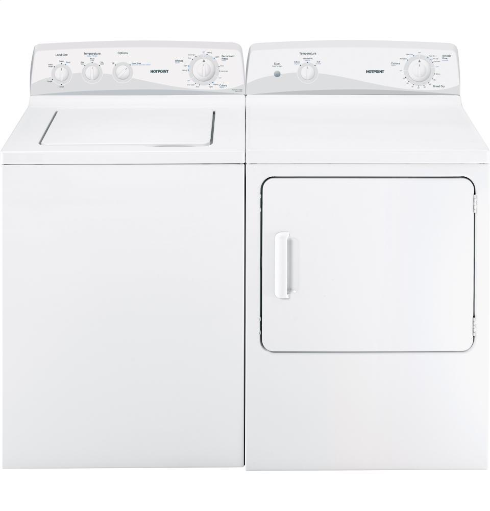 Hotpoint Top Loading Washing Machine Hotpoint Htwp1400fww 27 Inch 36 Cu Ft Top Load Washer In White