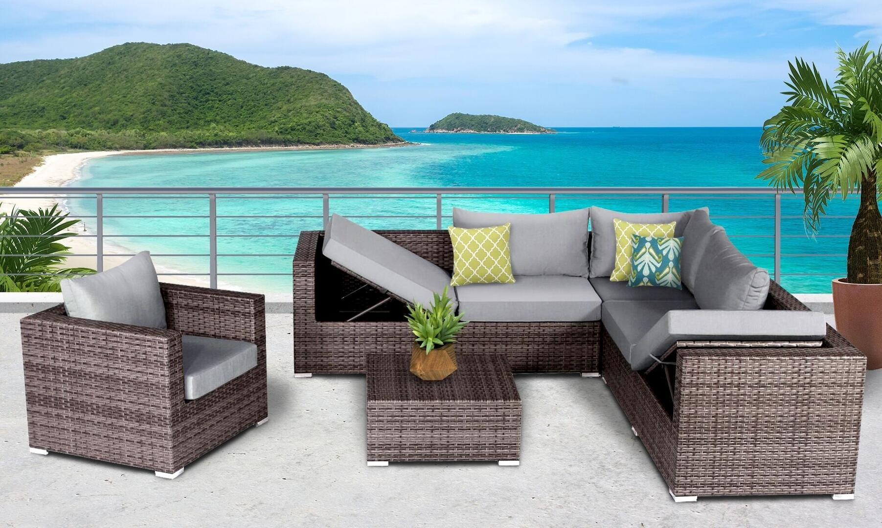 Miraculous Sunhaven Sun5001 Unemploymentrelief Wooden Chair Designs For Living Room Unemploymentrelieforg