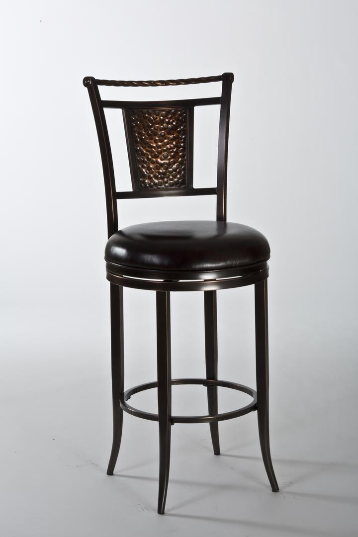 Hillsdale Furniture 5247830 Parkside Series Residential Vinyl Upholstered Bar Stool Appliances