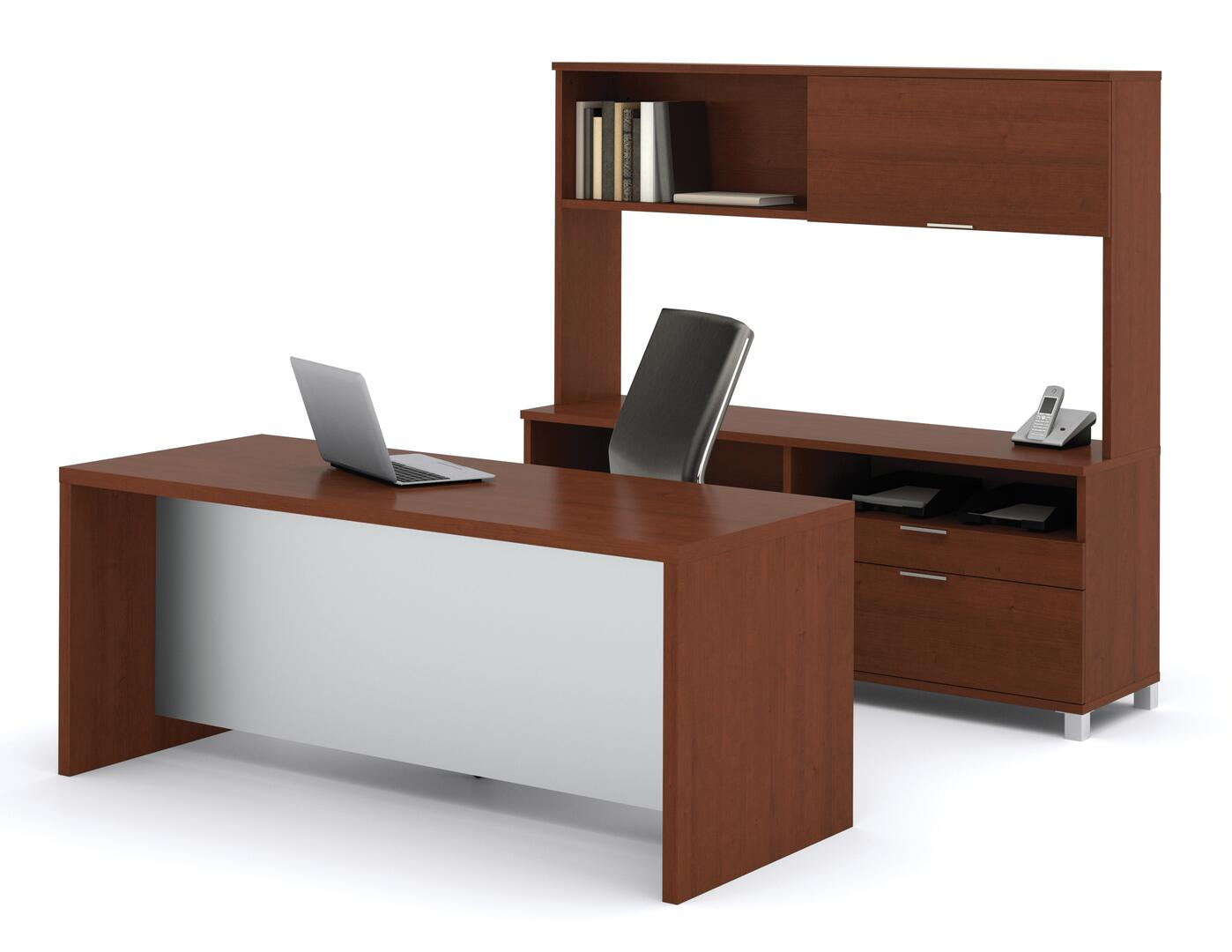 Bestar furniture 12085076 contemporary standard office for Furniture x connection