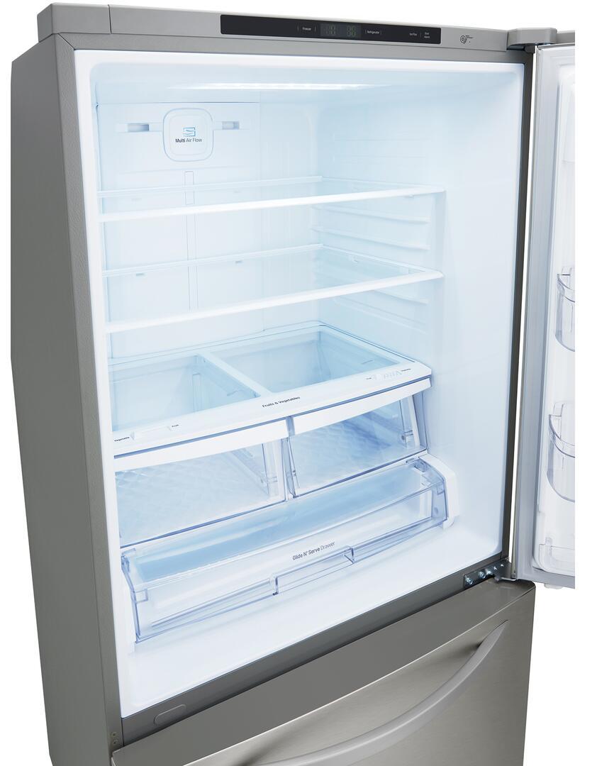 Lg Ldcs24223s 33 Inch Stainless Steel Bottom Freezer