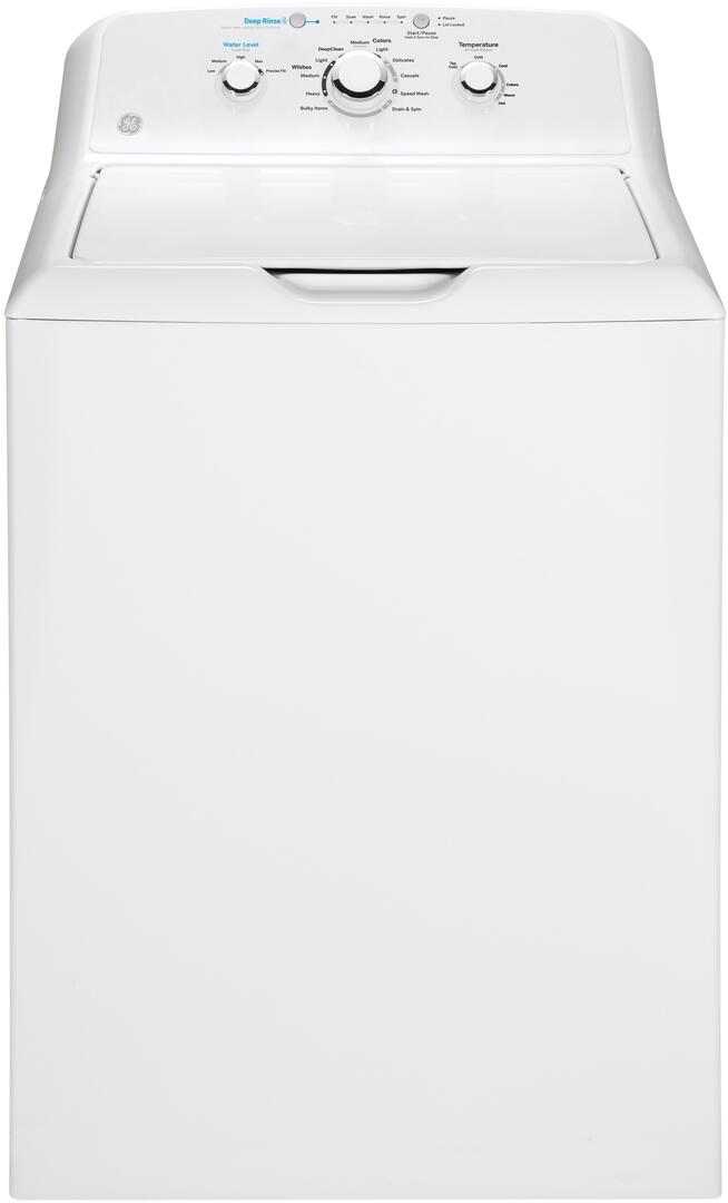 GE GTW335ASNWW 4.2 cu. ft. 27 Inch Top Load Washer on