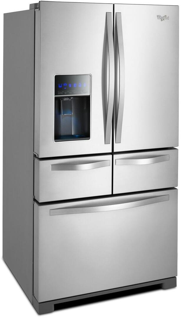 Whirlpool Wrv976fdem 36 Inch French Door Refrigerator With