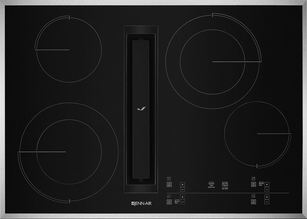 Jenn Air Jed4430gs 30 Inch 4 Element Electric Cooktop In