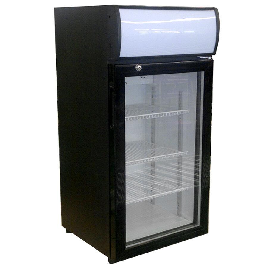 Beverage Air Ctr3 1 B Led One Section Countertop Reach In Display Freezer Wiring Diagram Merchandiser Main Image