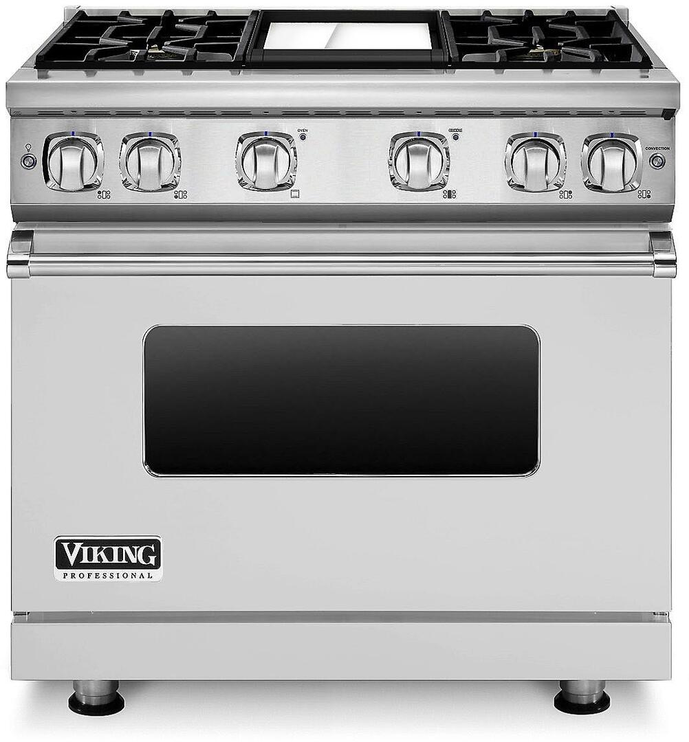 Viking VGR73614GSS 36 Inch 7 Series Gas Freestanding Range with ...