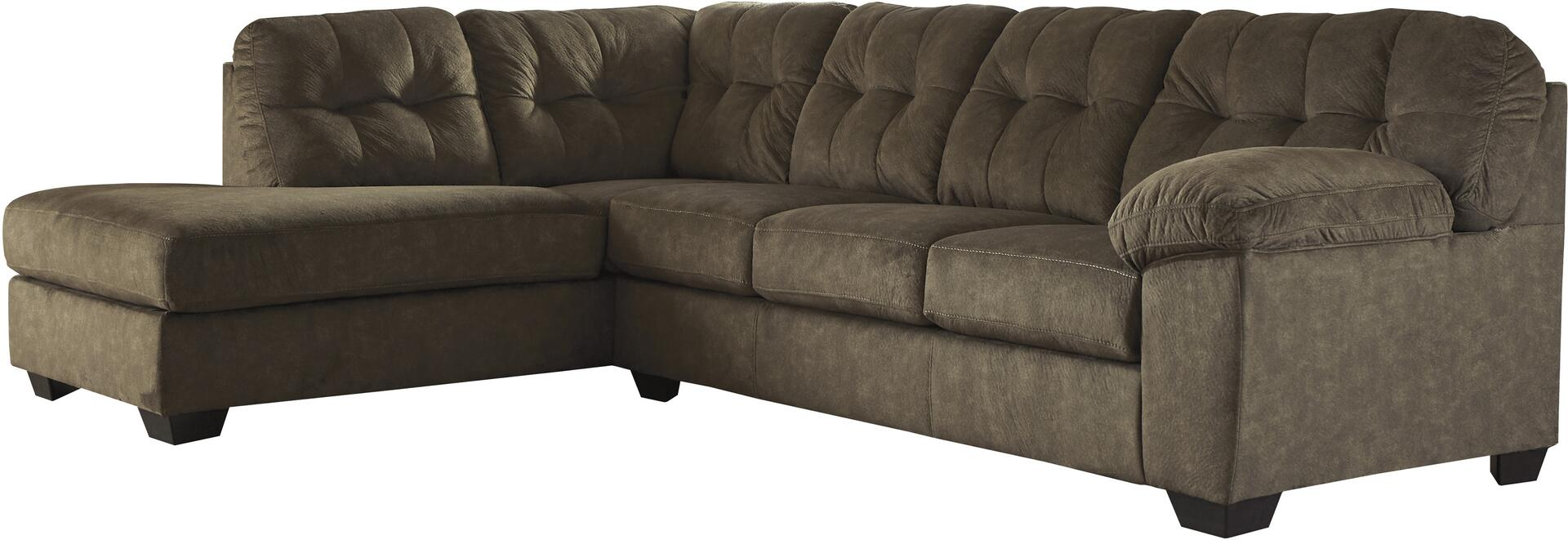Signature Design By Ashley 705081667 Accrington Series Sofa And Chaise Fabric Sofa Appliances