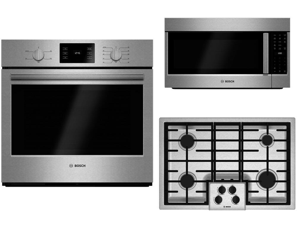 Bosch 380933 Kitchen Appliance Packages Appliances