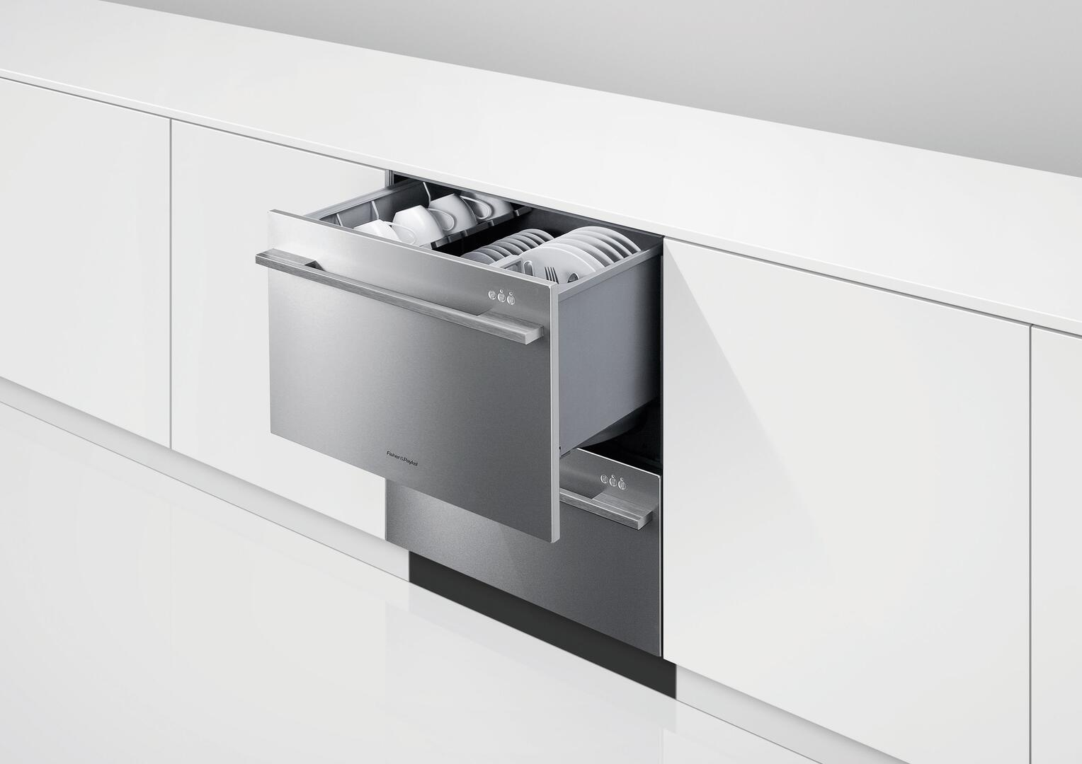Fisher Paykel Dd24ddftx7 24 Inch Stainless Steel Drawers